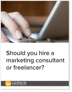 Should you hire a marketing consultant or freelancer?